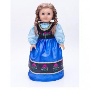 anna look alike doll costume