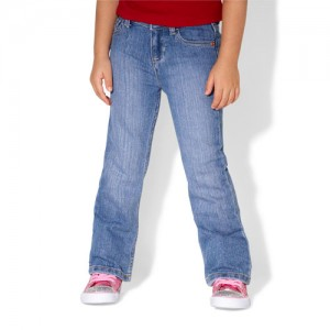baby bootcut jeans
