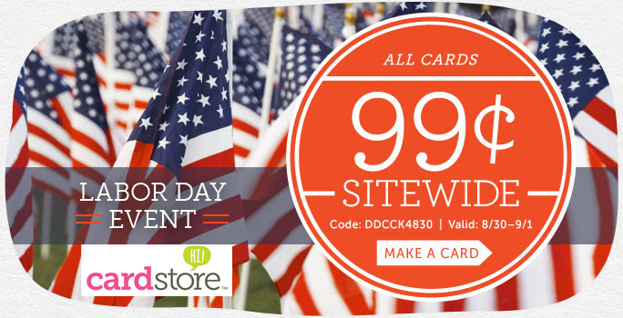 cardstore labor day event