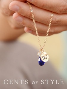 cents of style birthdstone necklace