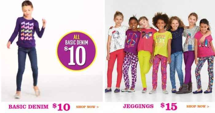 childrens place2 The Childrens Place: 30% Off Everything & FREE Shipping! Denim for $7, Jeggings for $10.50!