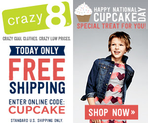 crazy 8 free shipping