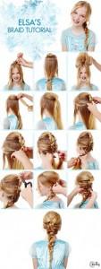 elsa's braid