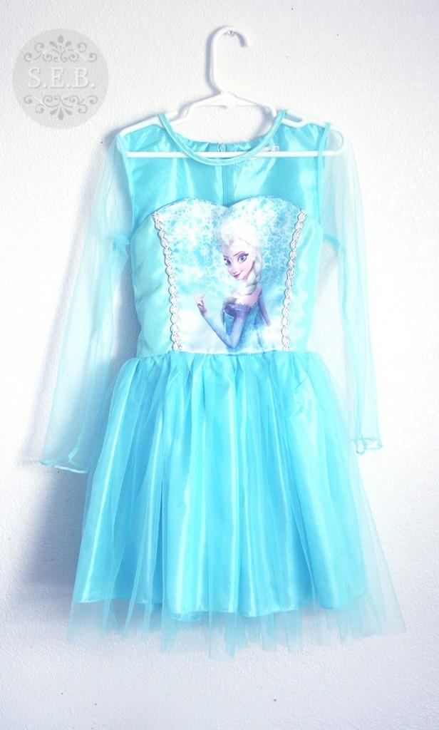 frozen elsa dress