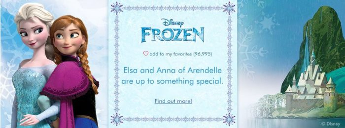 frozen zulily sale