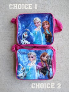frozzen inspired lunch boxes
