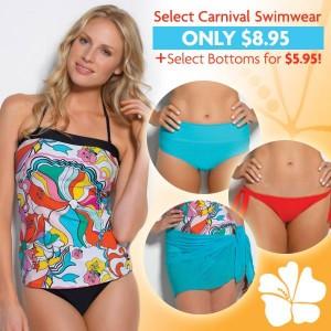 hapari carnival print swimwear