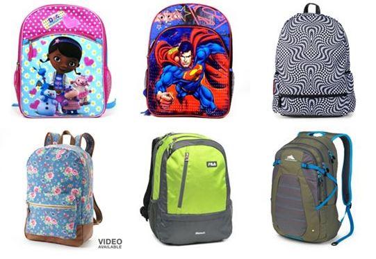 kohls backpacks 50 off *HOT* Kohls Backpacks 50% Off! Starts at $8.40 Shipped!