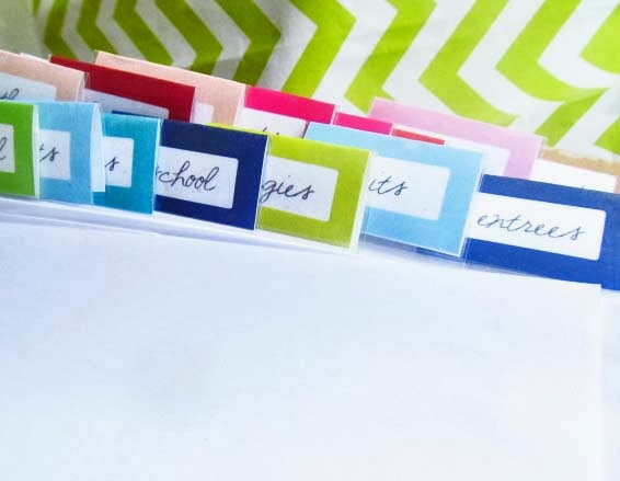 printable tabs from The House on Hillbrook