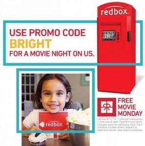 redbox free movie monday