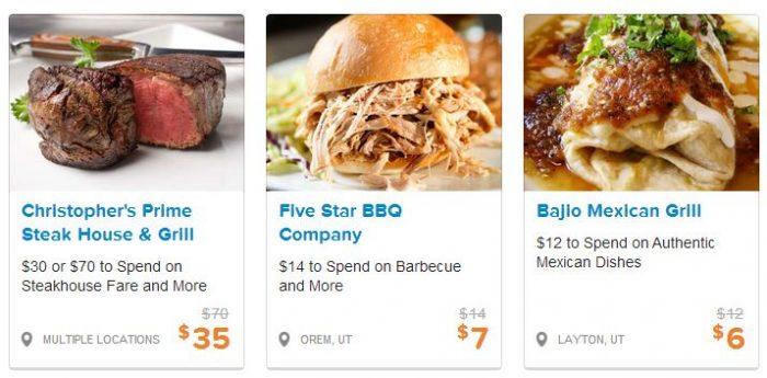 utah restaurant deals
