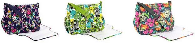 vera bradley messenger baby bag deals