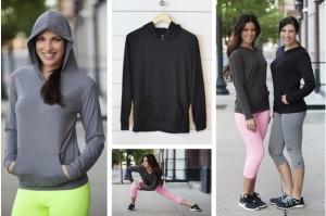 womens athletic hoodies
