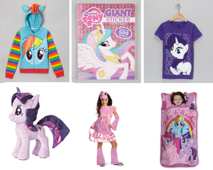 zulily my little pony