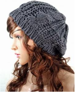 16 244x300 Crochet Slouchy Beanie Hat $3.48 Shipped!