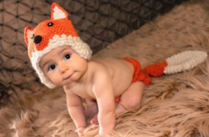 164 300x197 Fox Knit Crochet Photo Prop or Baby Halloween Costume Outfits $7.85 + Free Shipping