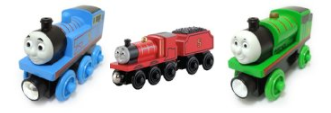 169 Thomas Wooden Railway Cars for $10!