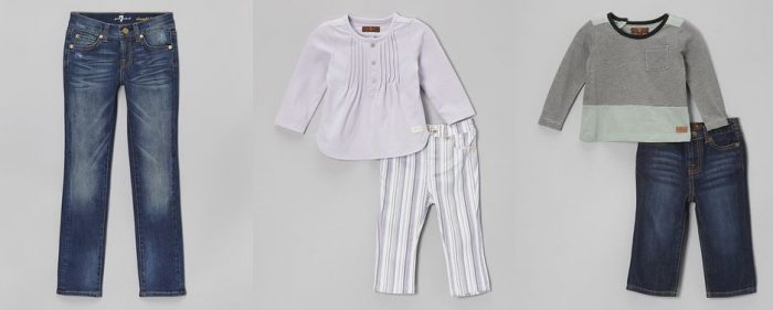 7 for all mankind zulily sale 7 For All Mankind Denim for Kids! On Sale at Zulily!