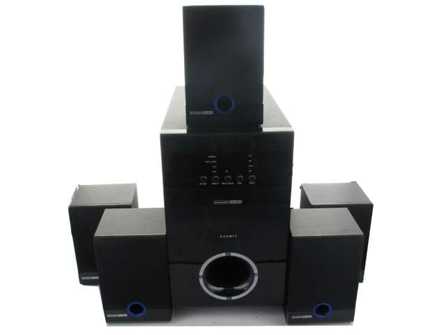 Acoustic Audio AA5817 800 Watt Home Theater 5.1 Powered Sub and Multi Speaker System