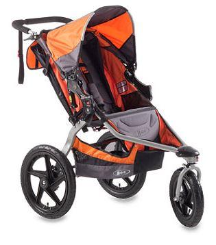 BOB Revolution SE Single Stroller in Orange