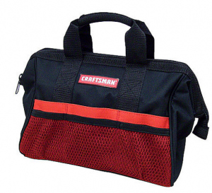 Crafsman Bag 300x273 Craftsman 13 in Tool Bag $3.99 (Reg $9.99)