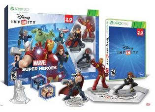 Disney INFINITY Marvel Super Heroes 2.0 Edition Video Game Starter Pack Disney Infinity: Marvel Super Heroes (2.0 Edition) Video Game Starter Pack *Pre Order Now!*