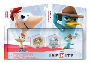 Disney Infinity Phineas and Ferb Toy Box Set