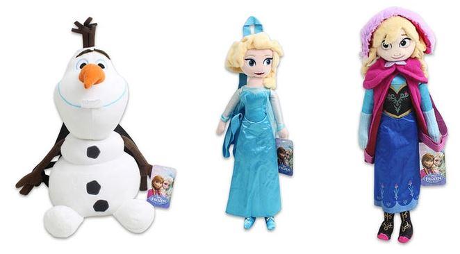 Disney's Frozen 17' Plush Backpacks