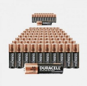 Duracell Batteries 80 Pack