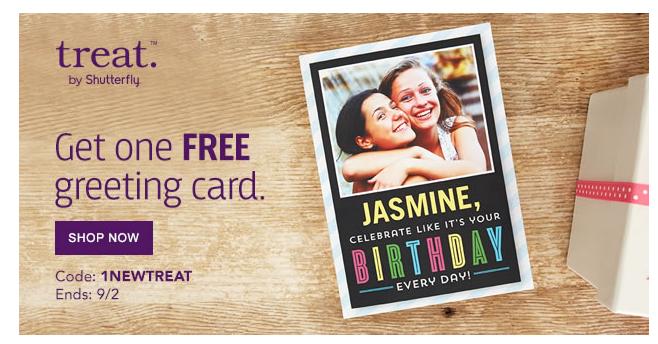 Free Treat Card