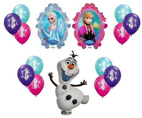Frozen XL Mylar Balloons Frozen XL Mylar Balloons   14pc Decorating Kit $10.50 + Free Shipping (Reg.18.99)
