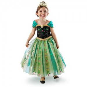 Green Anna 300x300 Anna and Elsa Dresses $14.38 Free Shipping!  *Last Chance for Halloween!