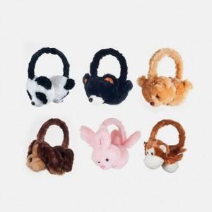 Happy Trails Plush Stereo Headphones