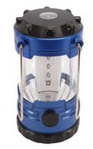 Housweety 12 LED Portable Super Bright Deluxe Camping Camp Lantern Light Lamp with Compass