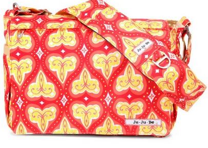 Ju Ju Be Be Ju Ju Be Be All Diaper Bag, Coral Kiss $67.78 (Reg. $140) + Free Shipping
