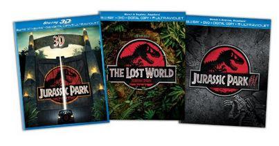 Jurassic Park Blu-ray Trilogy