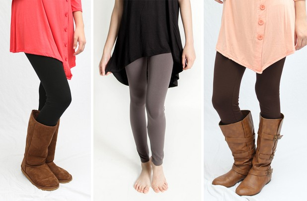 Long Leggings Extra 15% off at GroopDealz!  Leggings $4.24, Tall Boots $25.49, Ruffle Top $5.94, MORE  *Hot Deals*