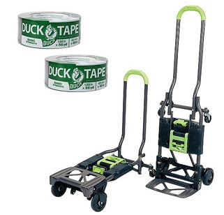 Multi Position Car Multi Position Cart/Dolly and 2 Rolls of Duct Tape Moving Bundle $50 + Free Shipping