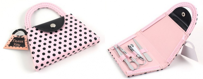 Pink Polka Dot Purse Manicure Set Pink Polka Dot Purse Manicure Set for $3.83 Shipped!
