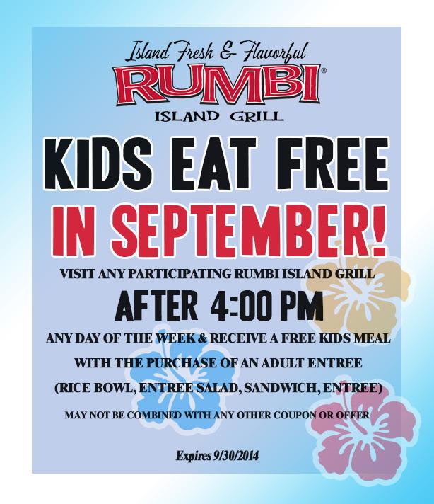 Rumbi island grill coupons