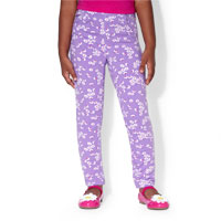 baby floral print pull-on pants