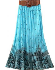belt maxi skirt 236x300 Long Skirt Maxi Dress $9.96 Shipped! *6 Colors*