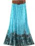belt maxi skirt