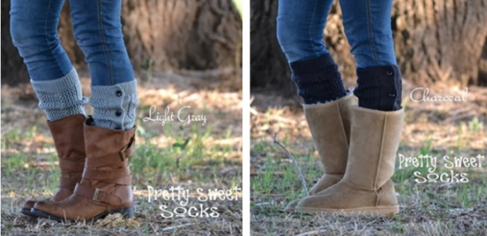 boot socks Boot Cuffs in 8 Colors! $8.99