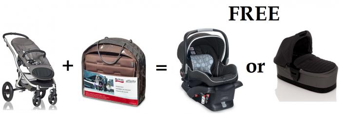 free britax b safe infant car seat 180 value or affinity bassinet 200 value with purchase. Black Bedroom Furniture Sets. Home Design Ideas