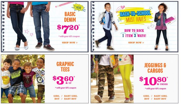 childrens place labor day sale 2