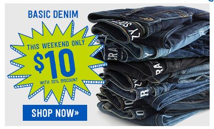 crazy 8 basic denim *HOT* Crazy 8: $10 Jeans, $5 Long Sleeve Tees, 60% Off Select Styles, Plus FREE Shipping!