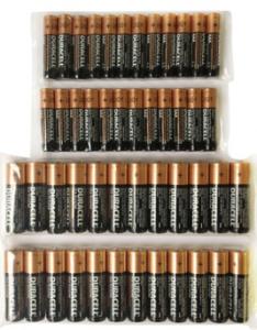 duresal batteries