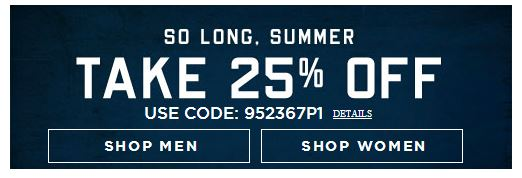 extra 25 off american eagle