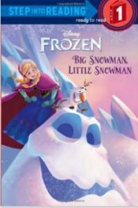 frozen big snowman